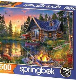 Springbok 500pc Sun Kissed Cabin