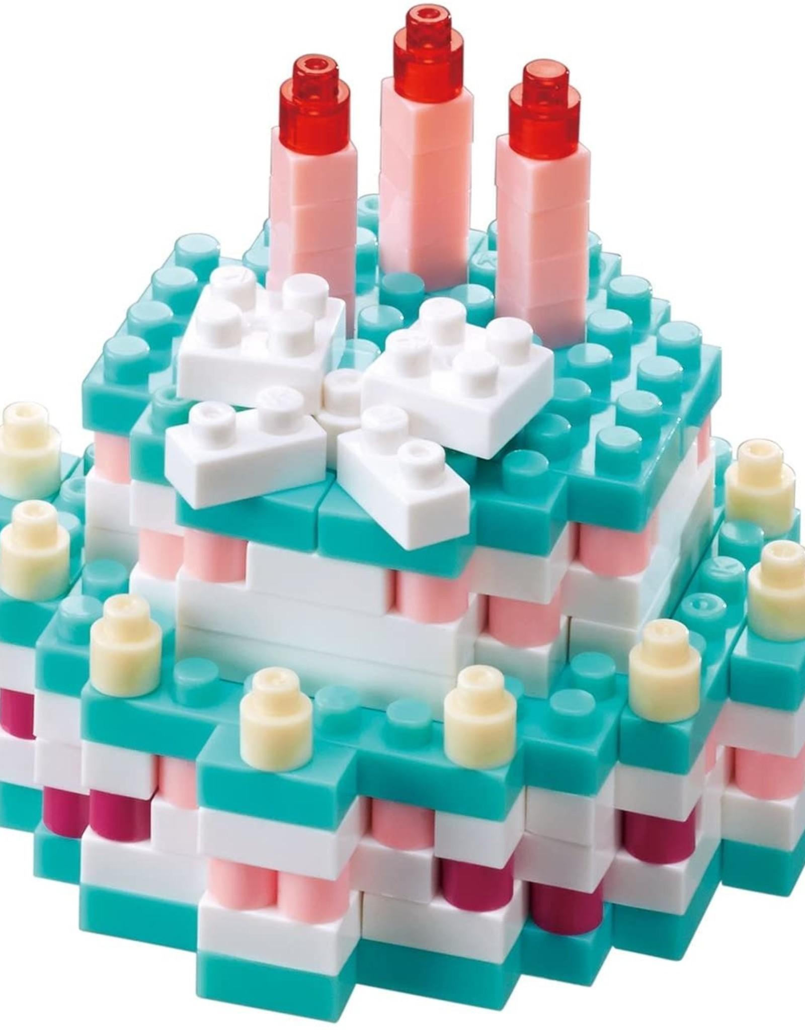 Schylling Nanoblock Birthday Cake