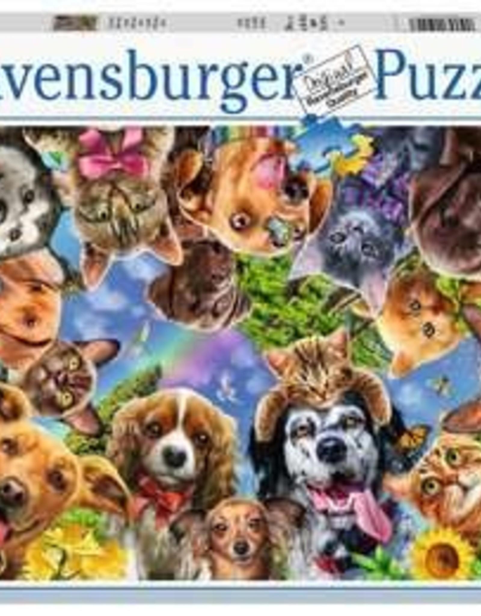 Ravensburger 500pc Animal Selfie