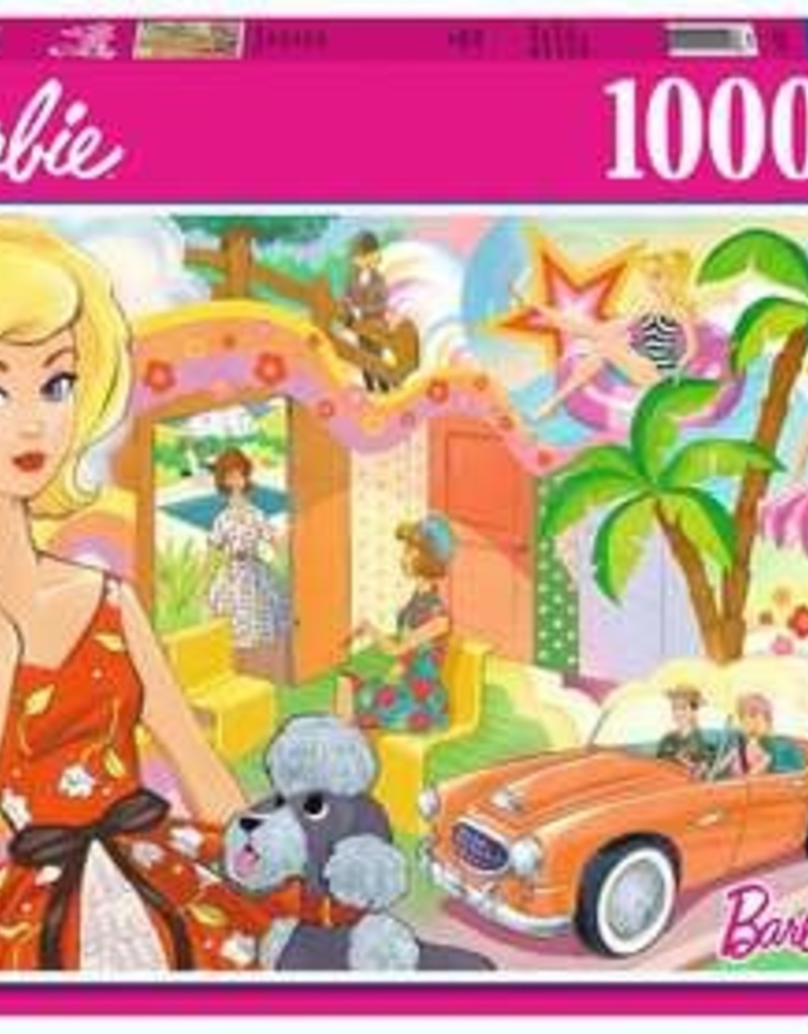 Ravensburger 1000 pc Vintage Barbie