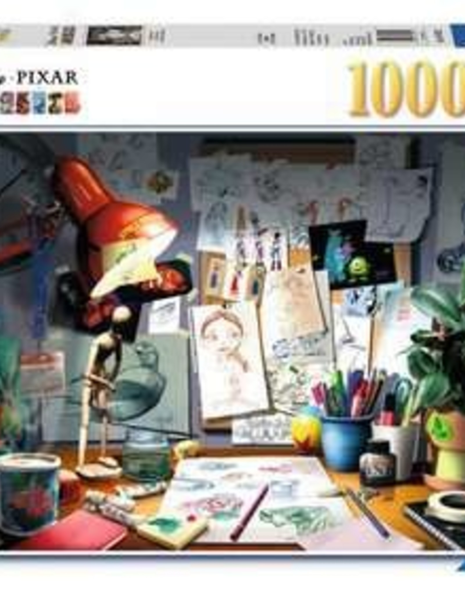 Ravensburger 1000pc The Artist's Desk