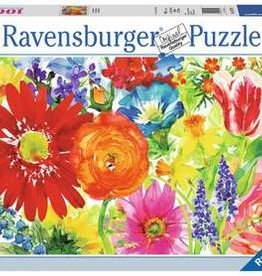 Ravensburger 1000pc Abundant Blooms
