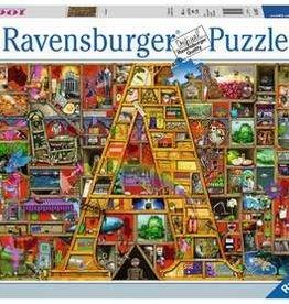 "Ravensburger 1000pc Awesome Alphabet ""A"