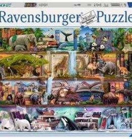 Ravensburger 2000pc Wild Kingdom Shelves
