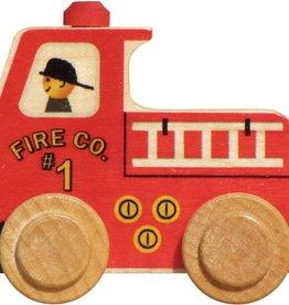 Maple Landmark Name Train Fire Truck