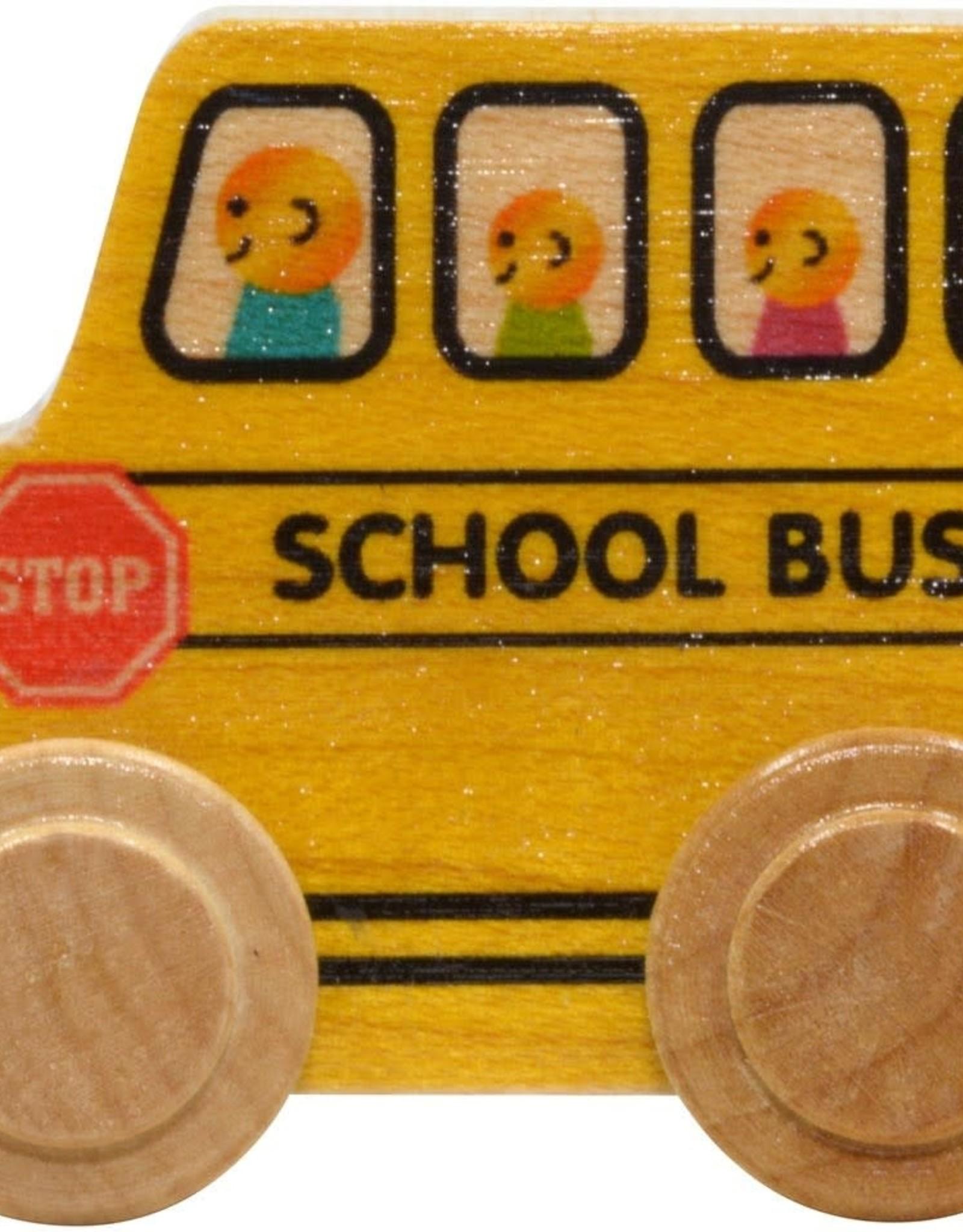 Maple Landmark Name Train School Bus