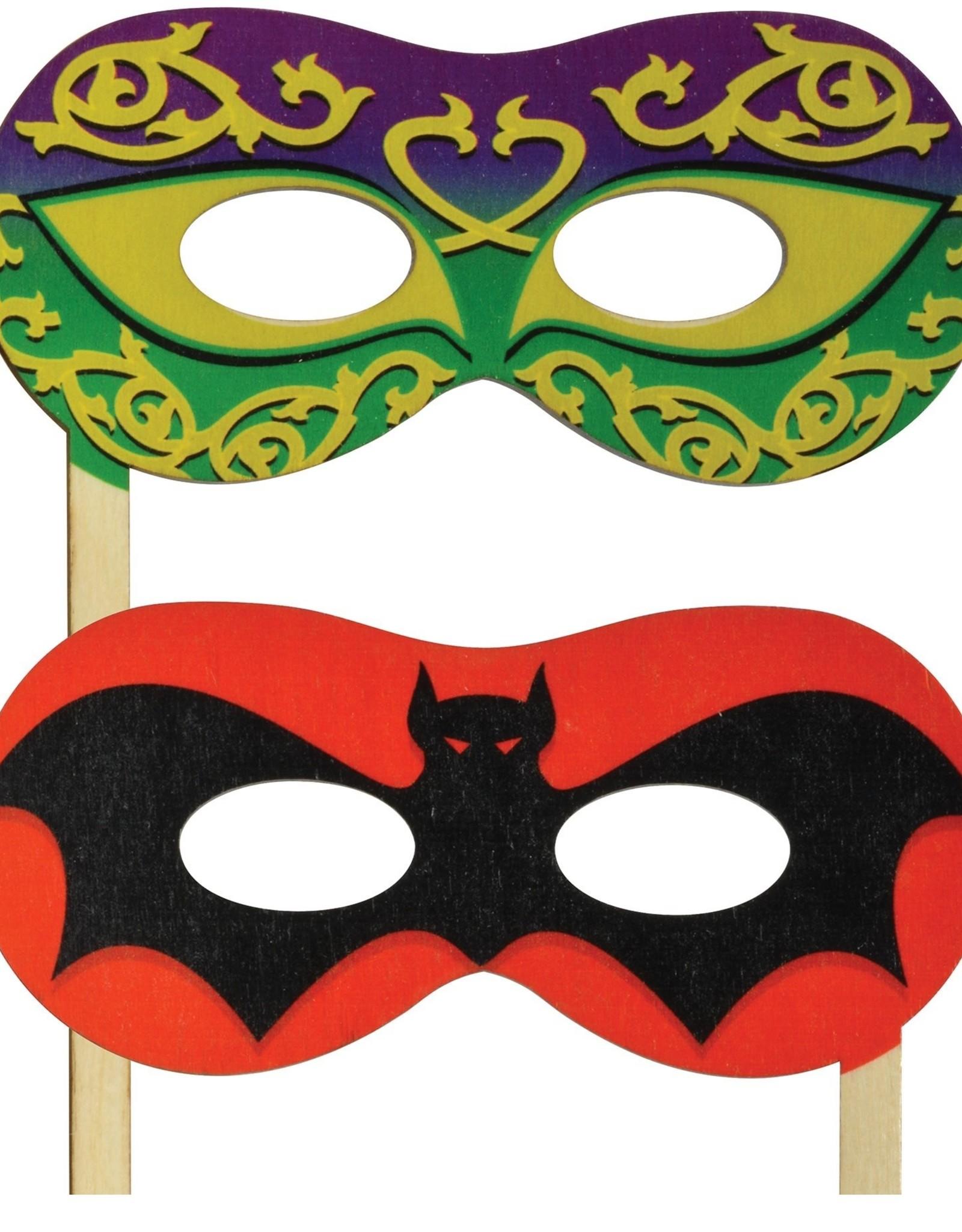 Maple Landmark Silly Sticks Mask