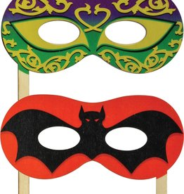 Maple Landmark Silly Sticks Mask