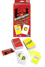 Scattegories Card Game
