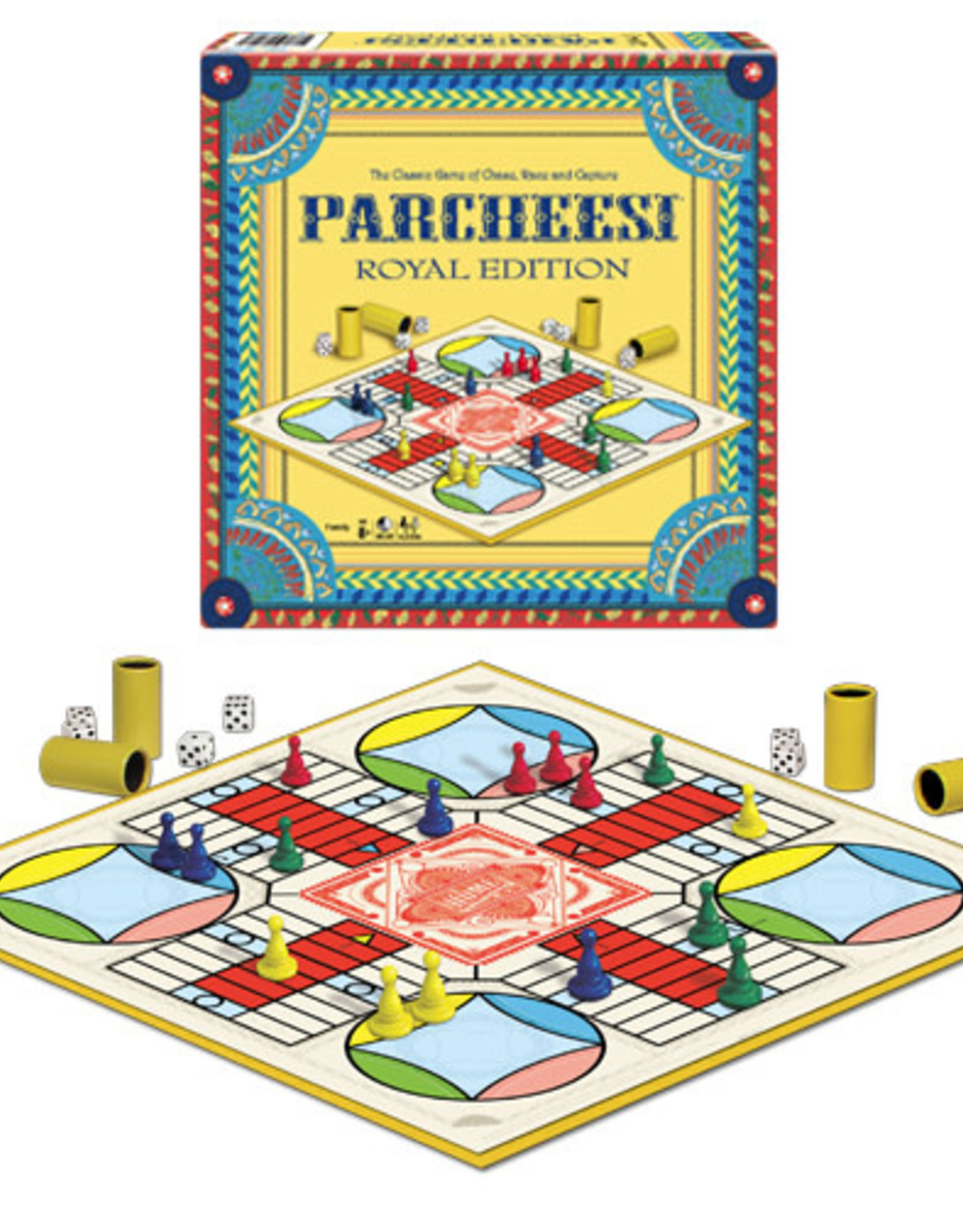 Hasbro Parcheesi Royal Edition