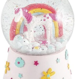 Floss & Rock Musical Snow Globe Unicorn
