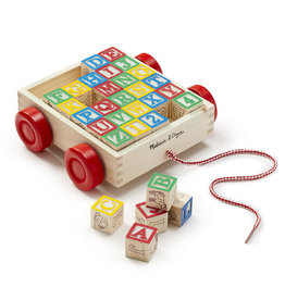Melissa & Doug MD Block Cart ABC