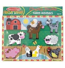 Melissa & Doug MD Chunky Puzzle Farm