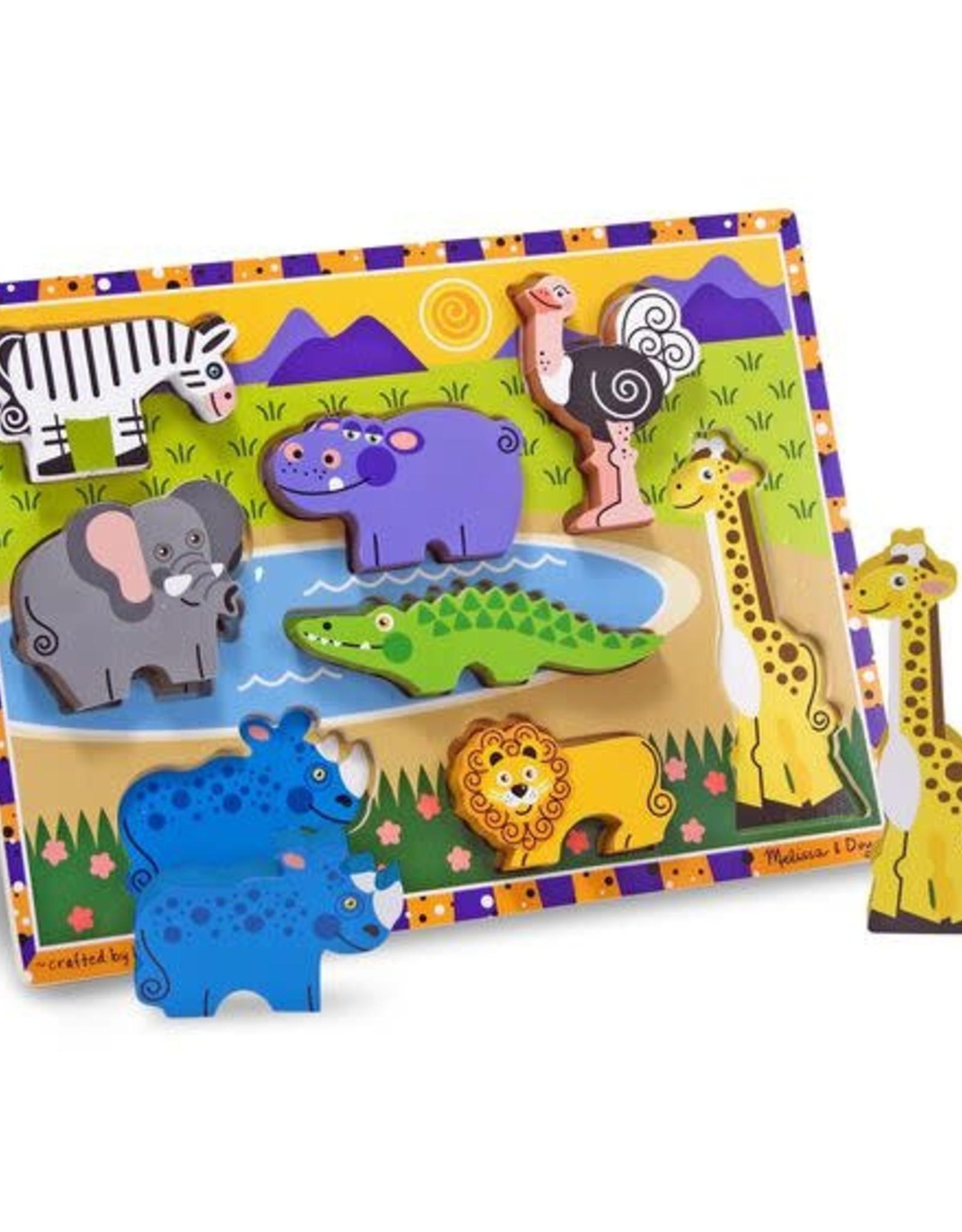 Melissa & Doug MD Chunky Puzzle Safari