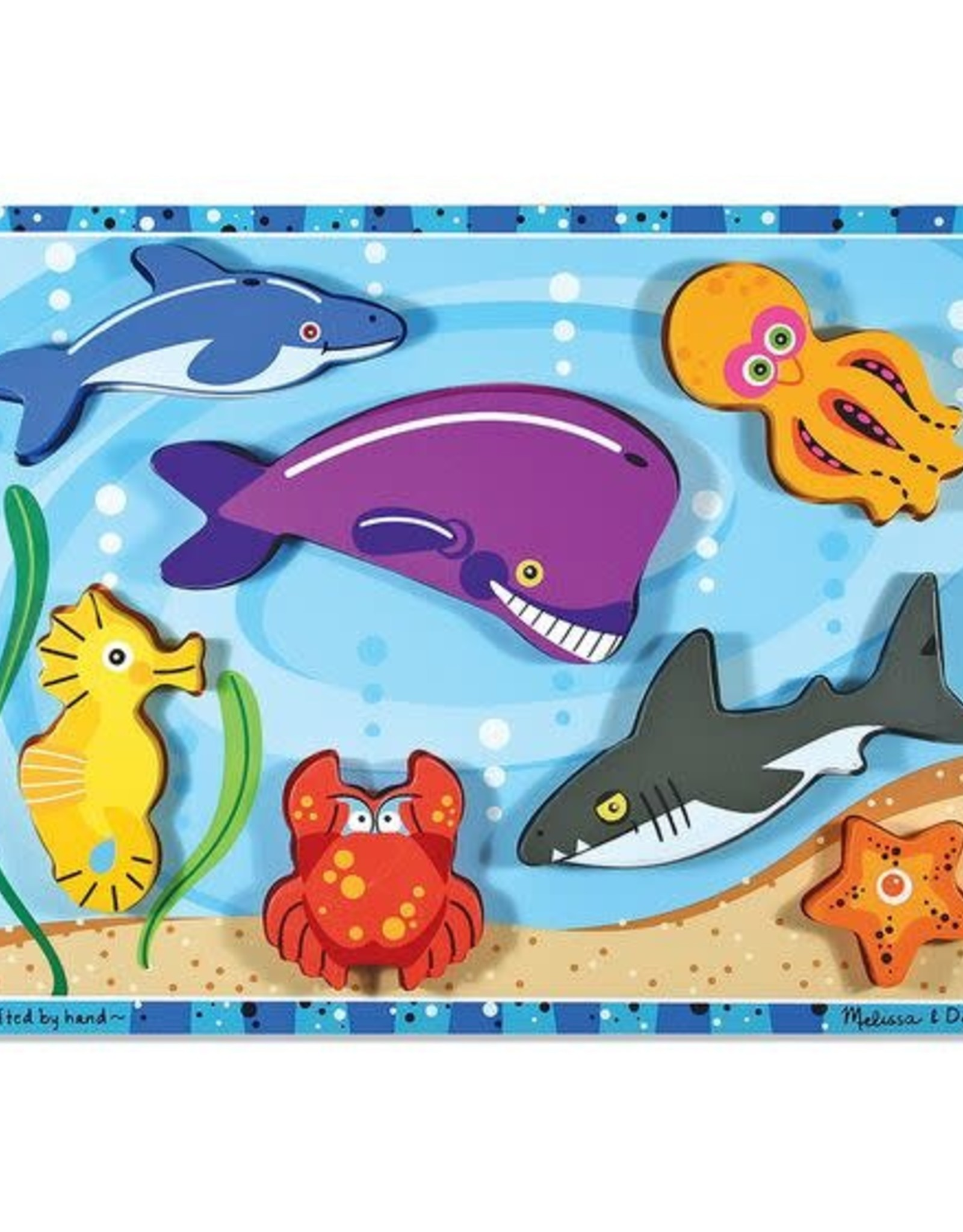 Melissa & Doug MD Chunky Puzzle Sea Creatures