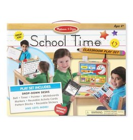 Melissa & Doug MD Classroom Set School Time