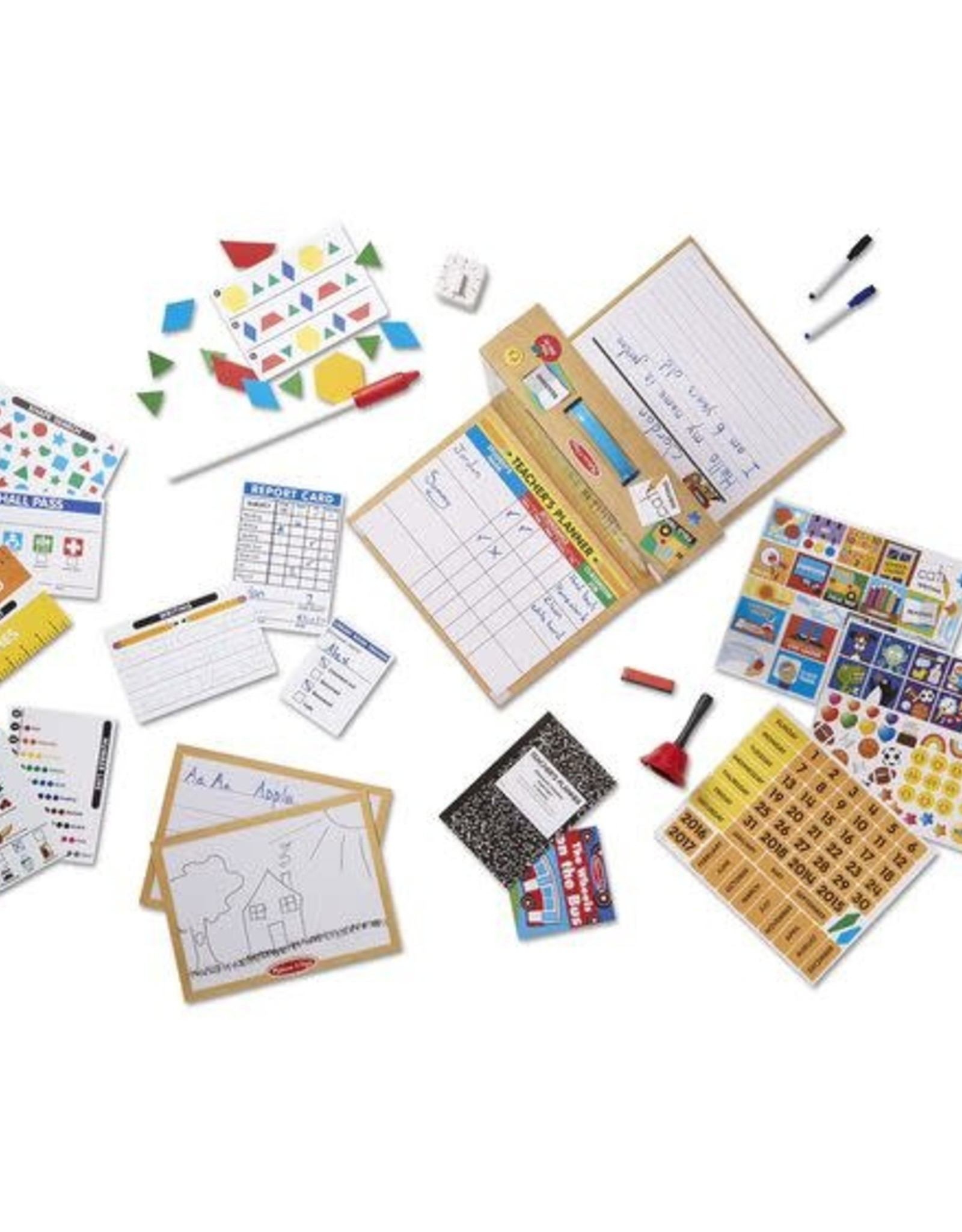 Melissa & Doug MD Classroom Set School Time
