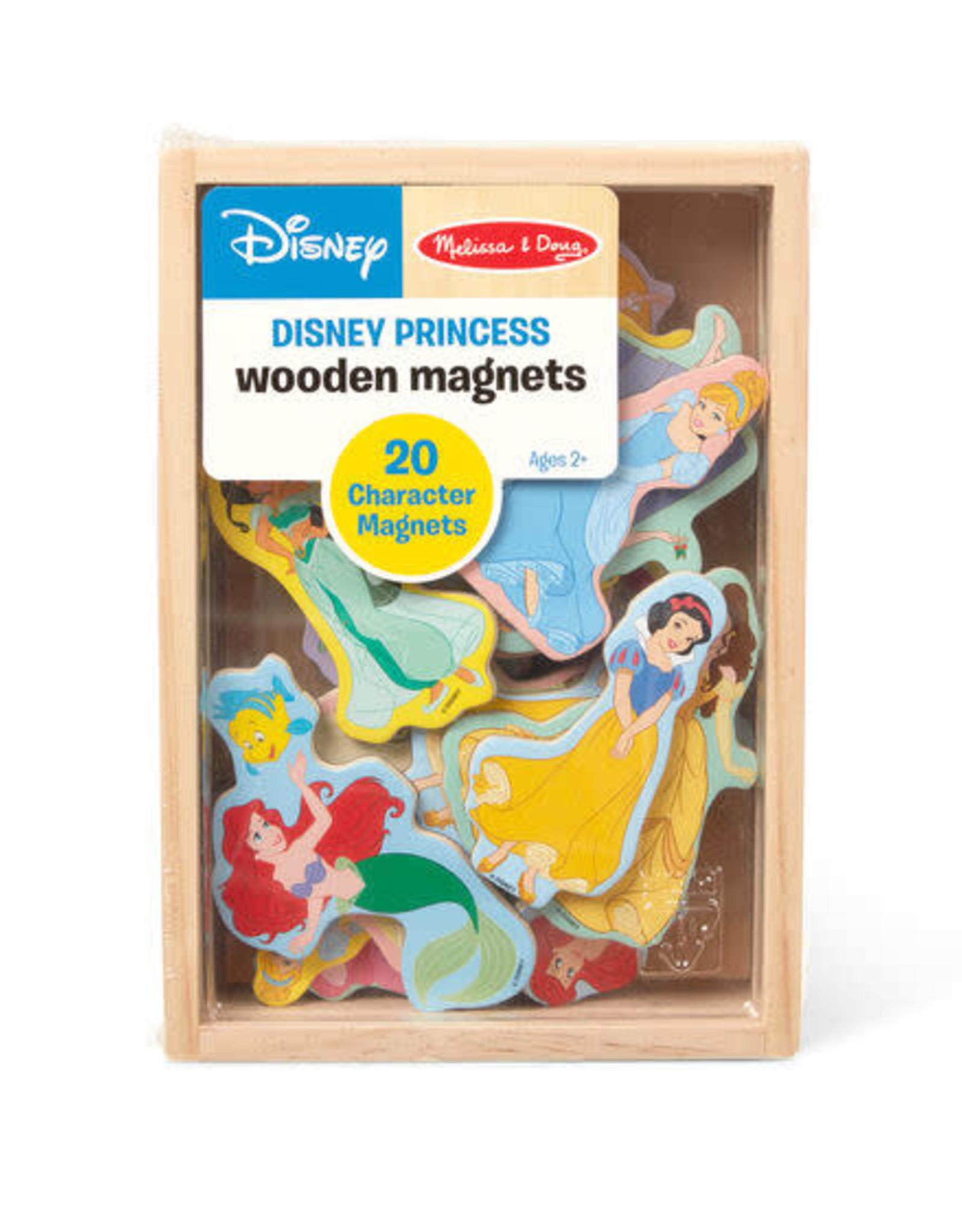 Melissa & Doug MD Wooden Magnets Disney Princess