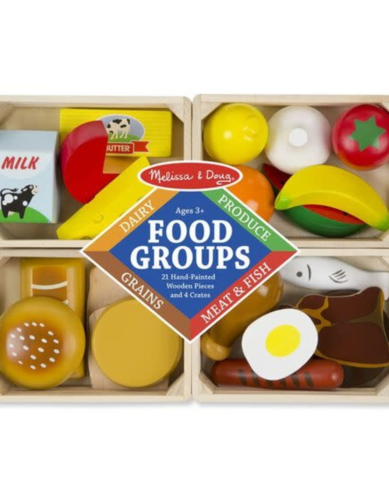 Melissa & Doug MD Food Groups