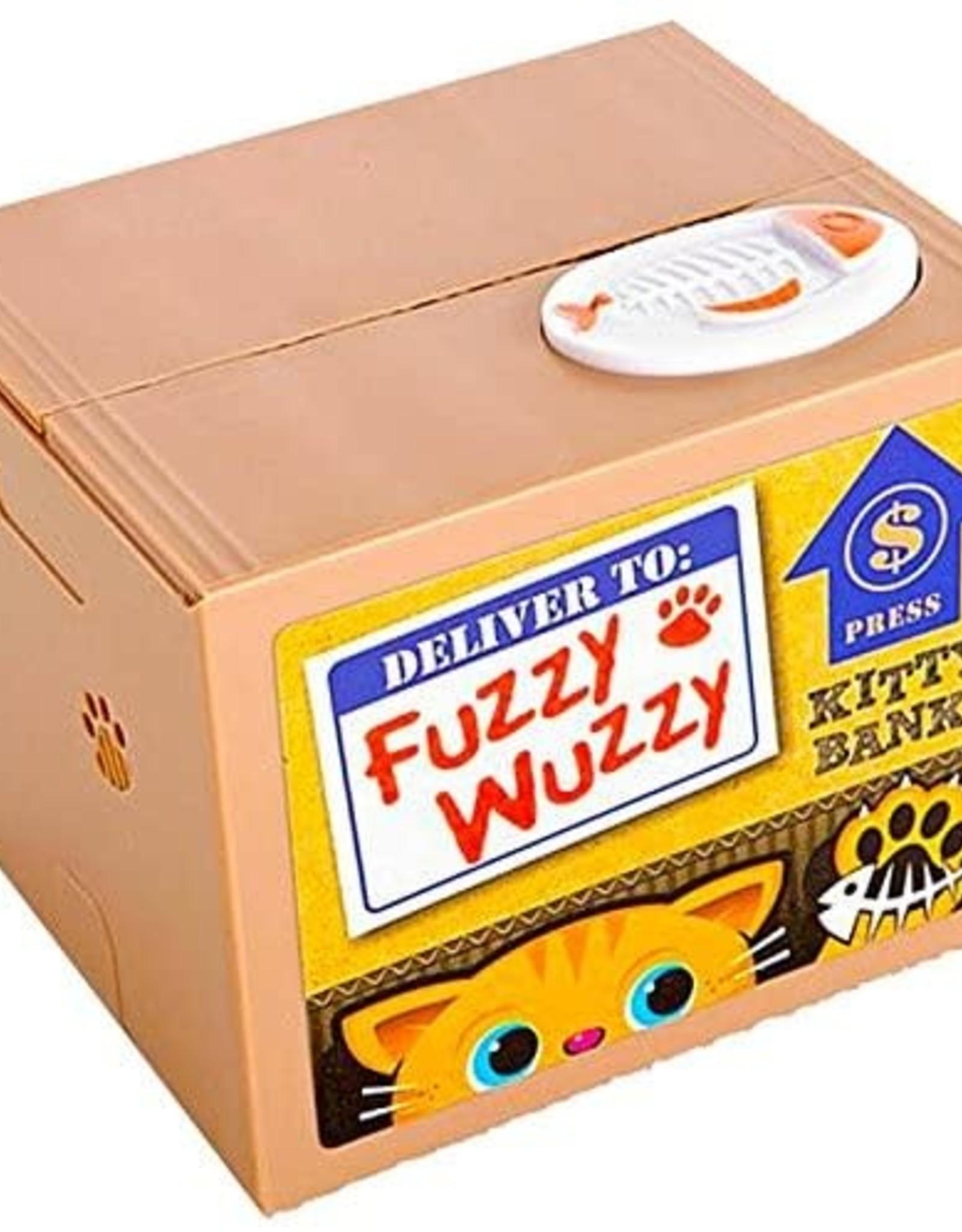 Fuzzy Wuzzy Kitty Bank
