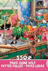 Ceaco 550pc Paws Gone Wild Assortment