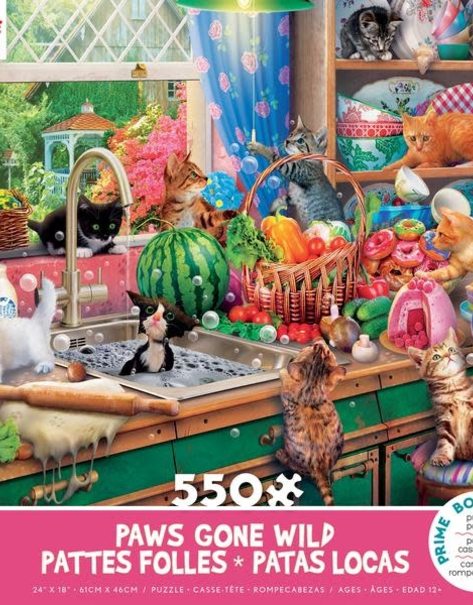550pc Paws Gone Wild Assortment