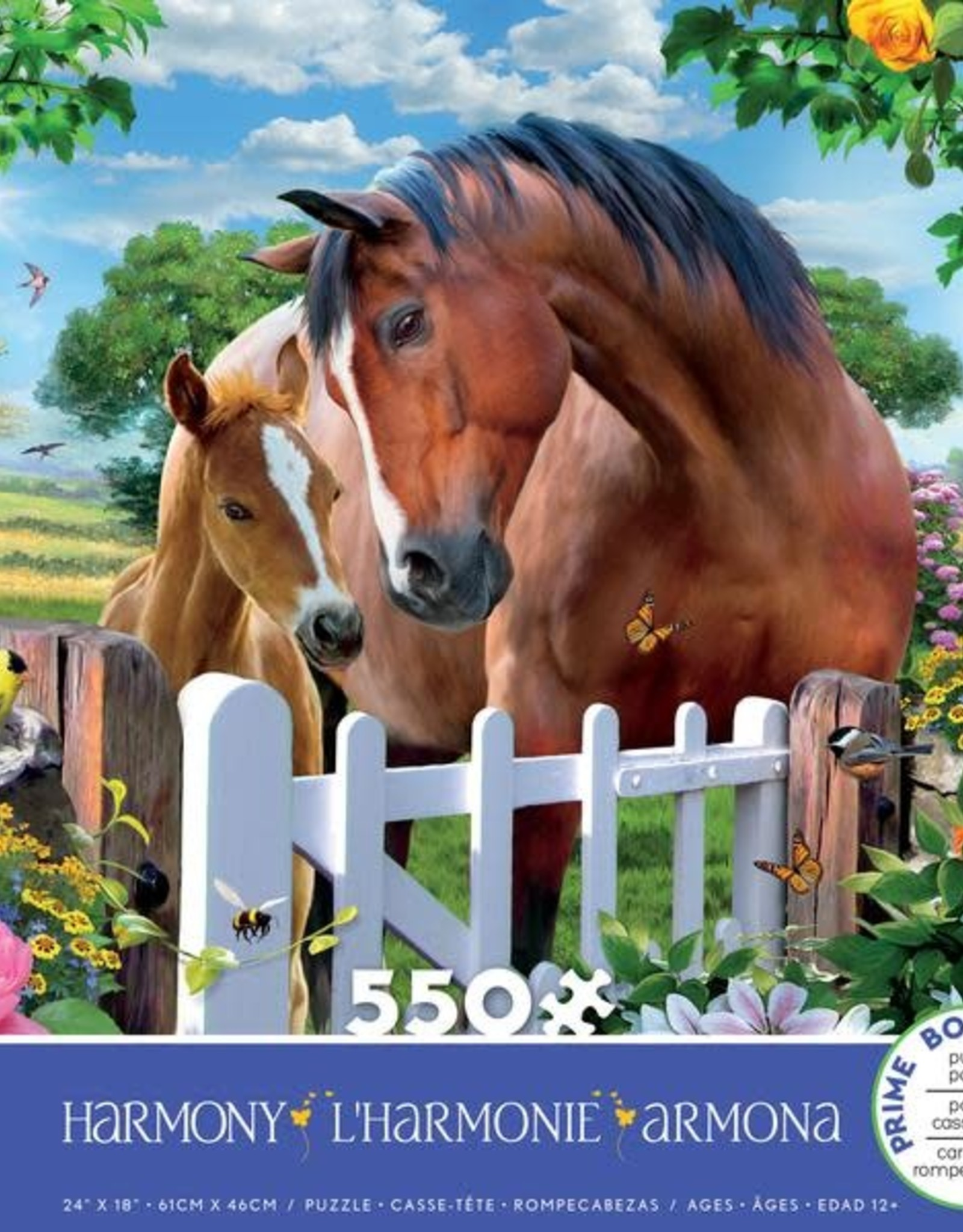 Ceaco 550pc Harmony Horses
