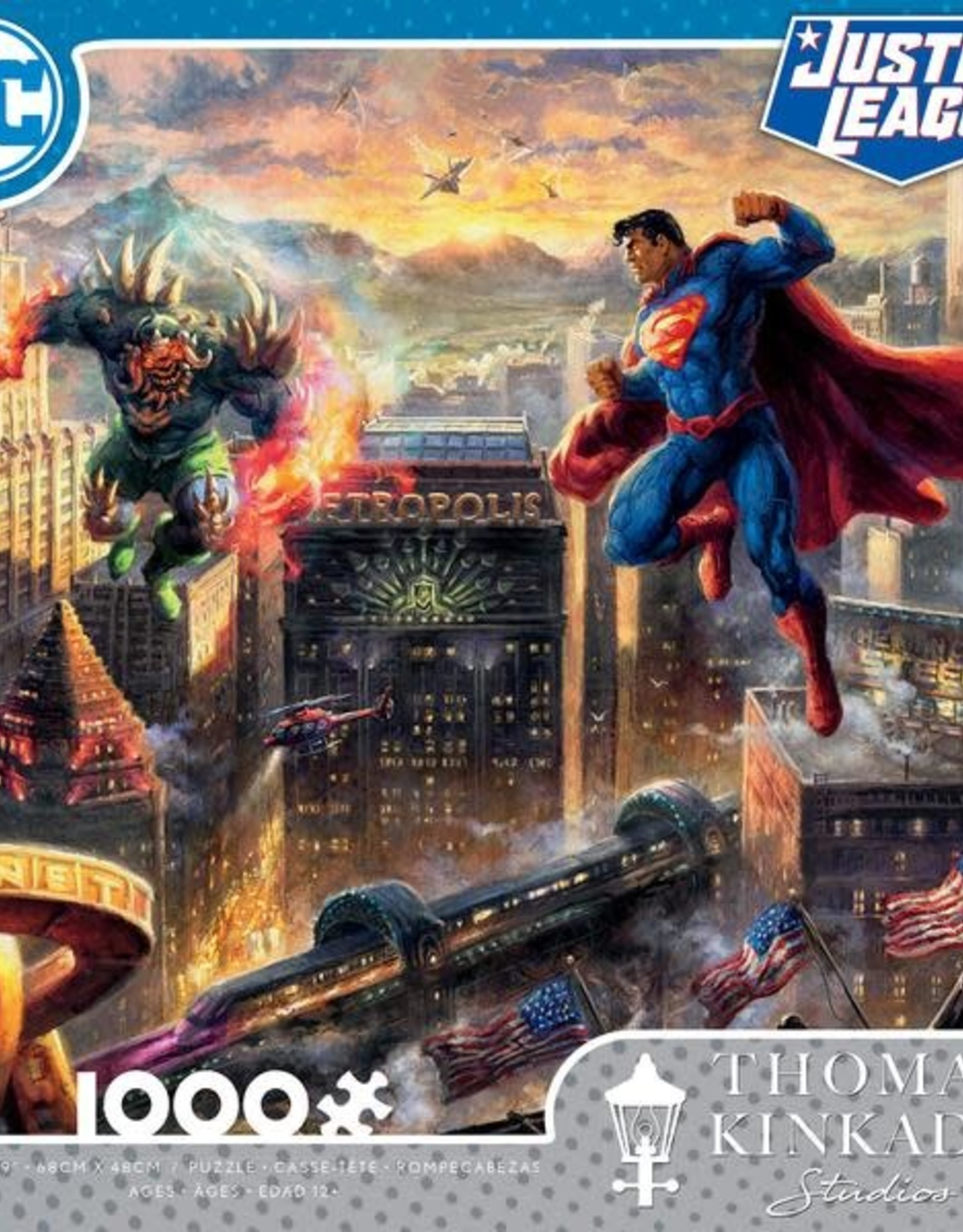 1000pc TK DC Comics Assortment