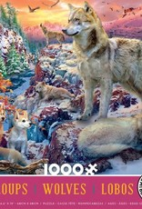 Ceaco 1000pc Wolves Pink Box