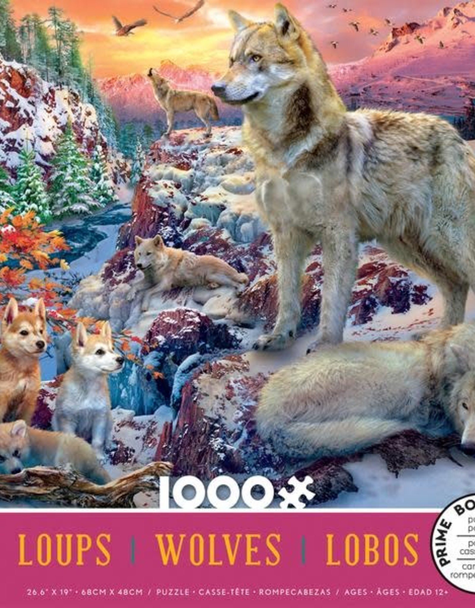 1000pc Wolves Assortment