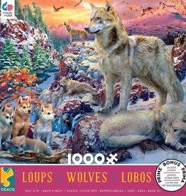 Ceaco 1000pc Wolves Assortment