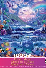 Ceaco 1000pc Ocean Magic Dolphins by the Shore