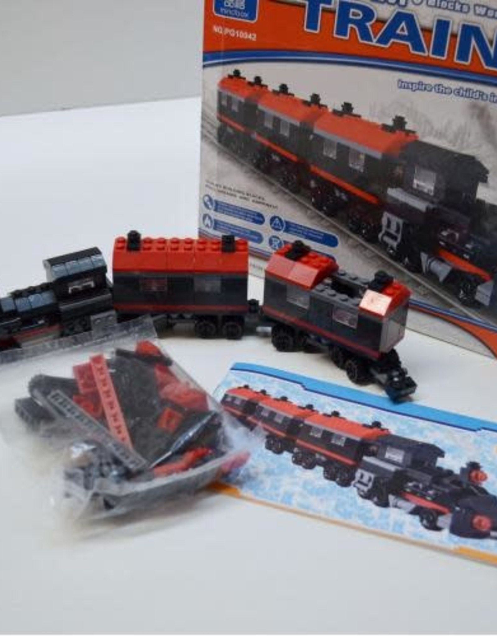 Hayes Specialties Steam Train Assembly Blocks 360pc