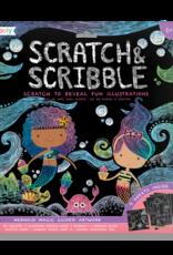 Ooly Scratch Art Mermaid Magic
