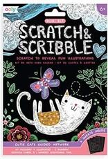 Ooly Scratch Art Mini Cutie Cats