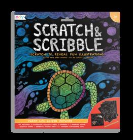 Ooly Scratch Art Ocean