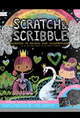 Ooly Scratch Art Princess Garden