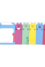 Ooly Note Pals Sticky Tabs - Color Cats