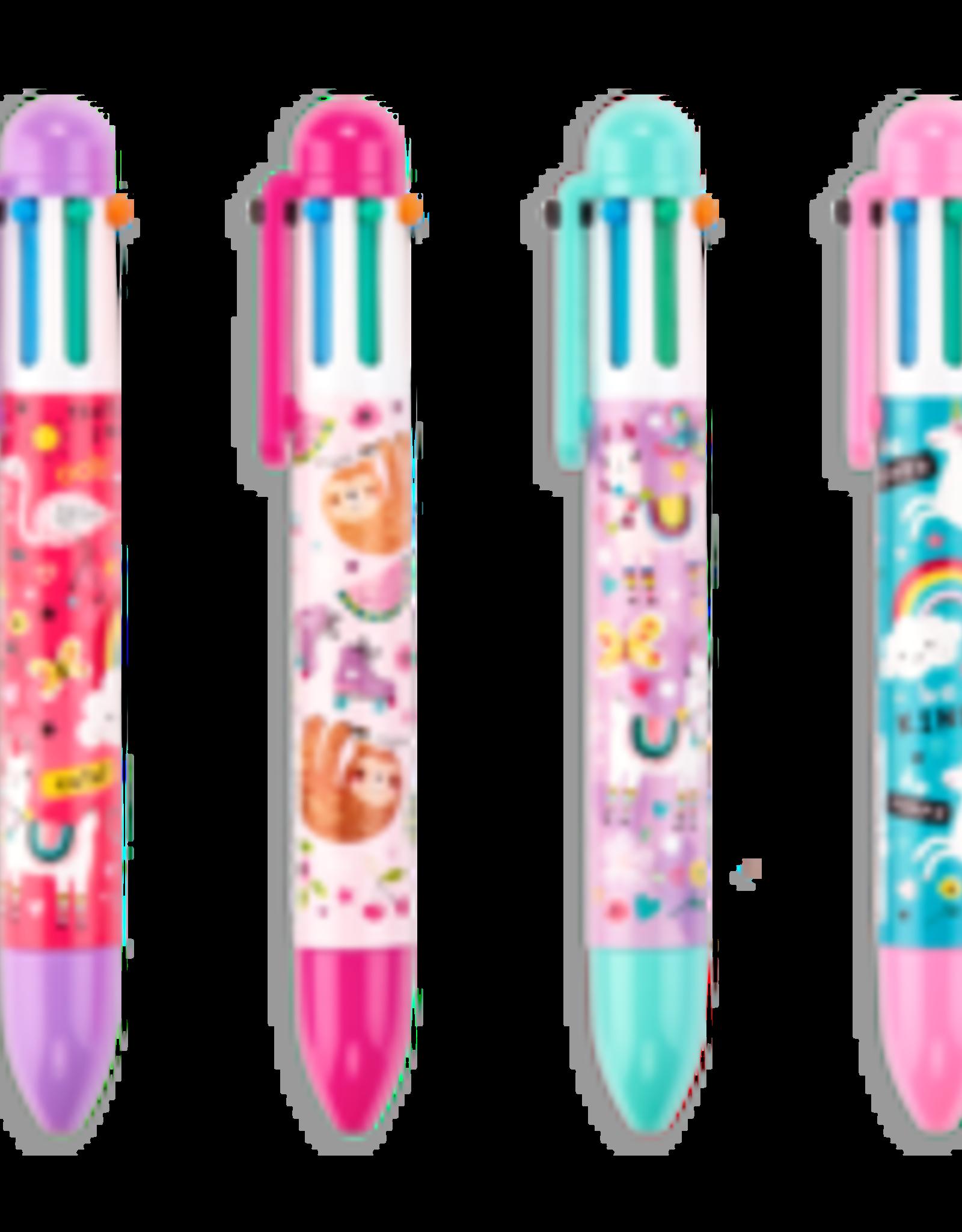 Ooly 1 Pen Six Click Funtastic Friends