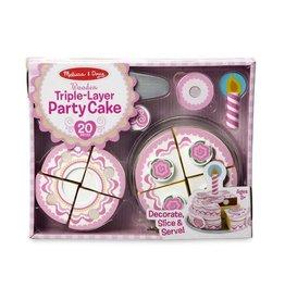 Melissa & Doug MD Party Cake Triple Layer Set