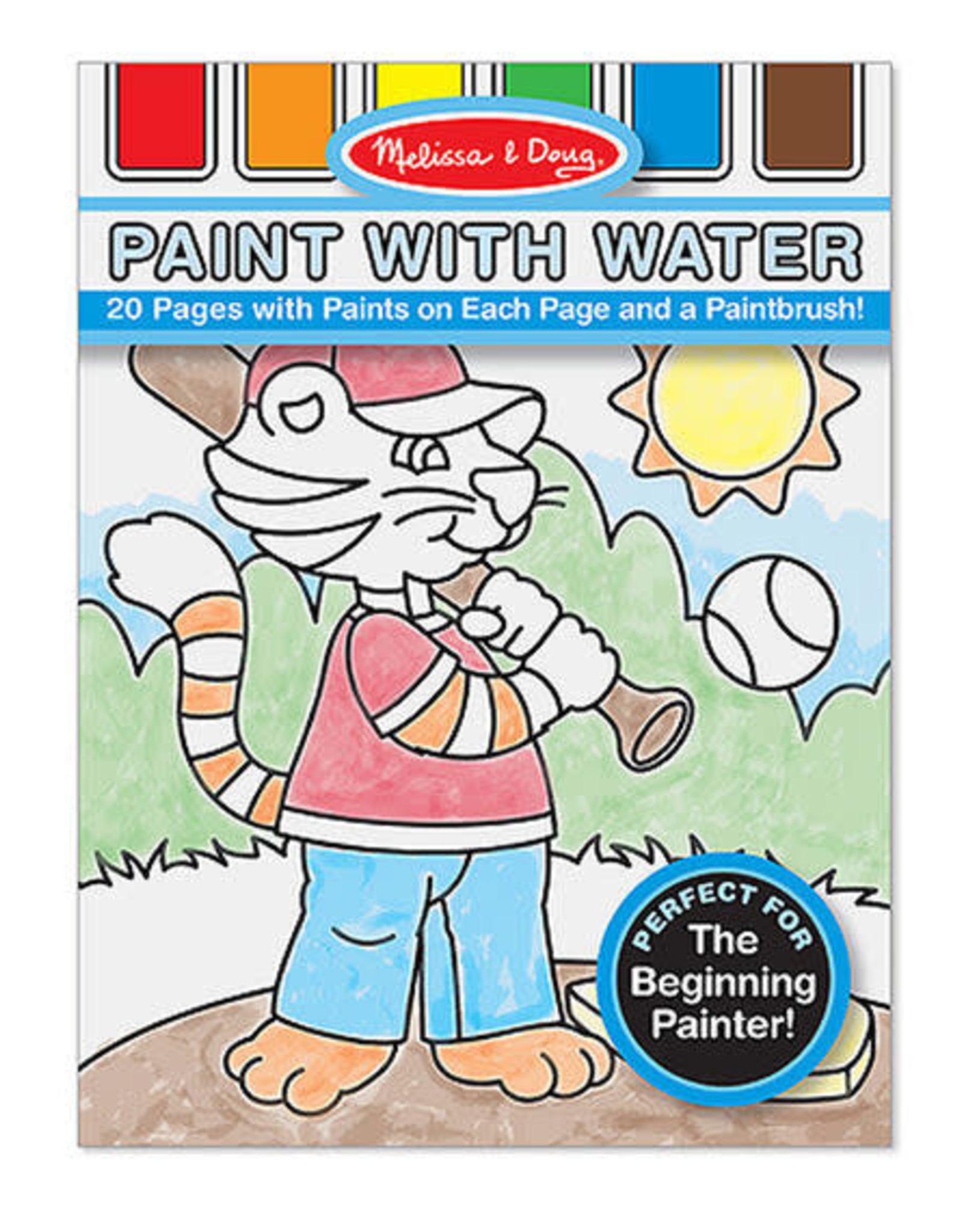Melissa & Doug MD Paint with Water Blue