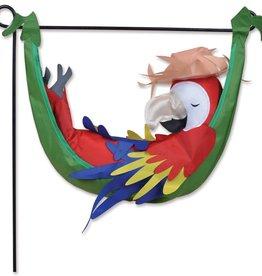 Premier Parrot on Hammock
