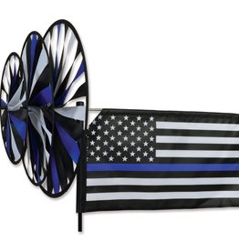 Premier Ground Triple Spinner Thin Blue Line