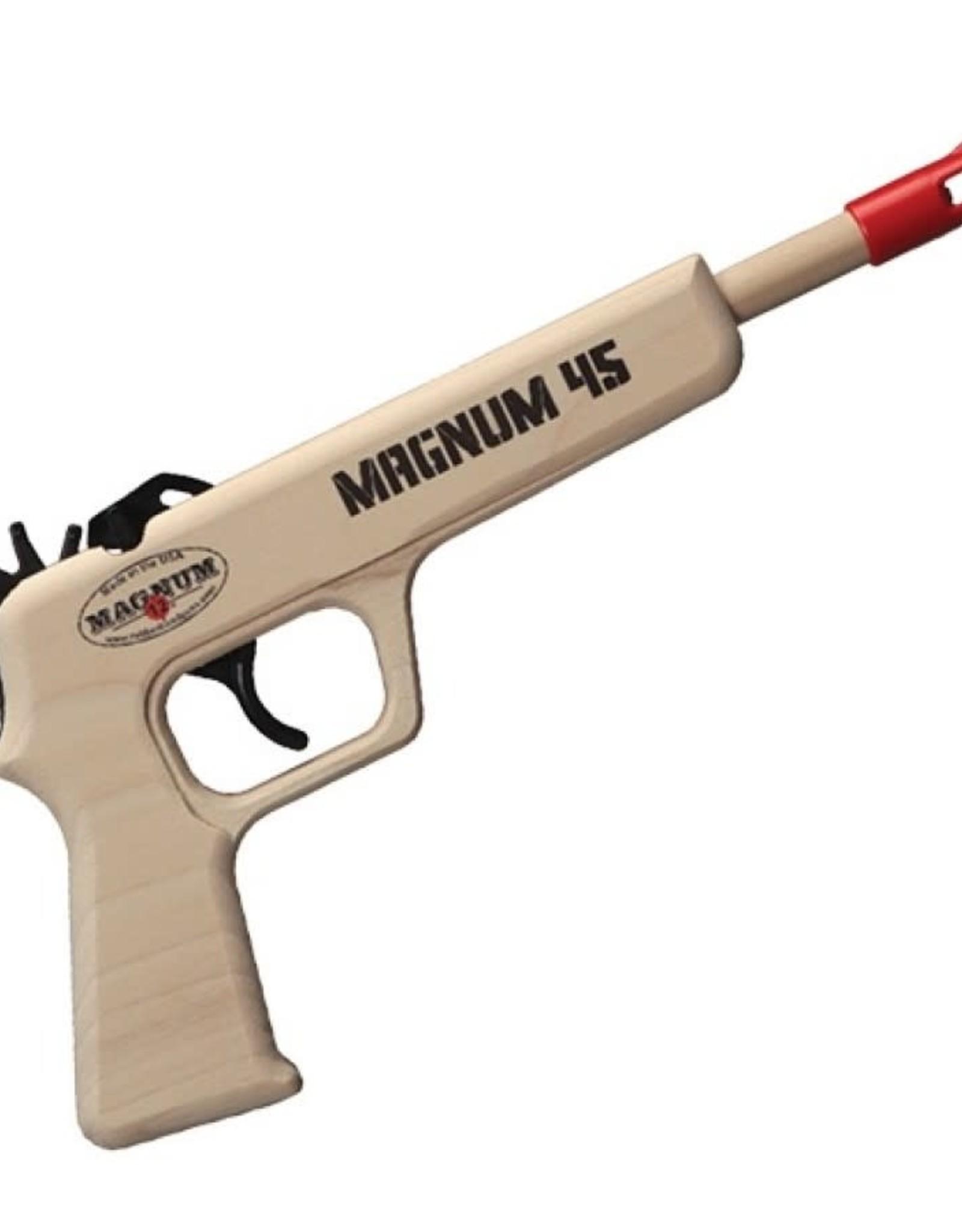 Magnum 12 Rubber Band Pistol Magnum 45 (Red)