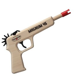 Rubber Band Pistol Magnum 45 (Red)
