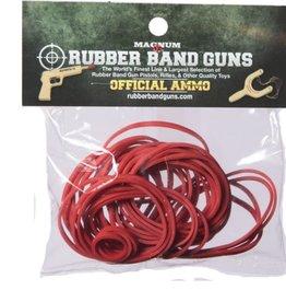 Rubber Band Gun Ammo 1 oz Red