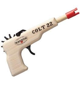 Rubber Band Gun Colt 22 (Green)