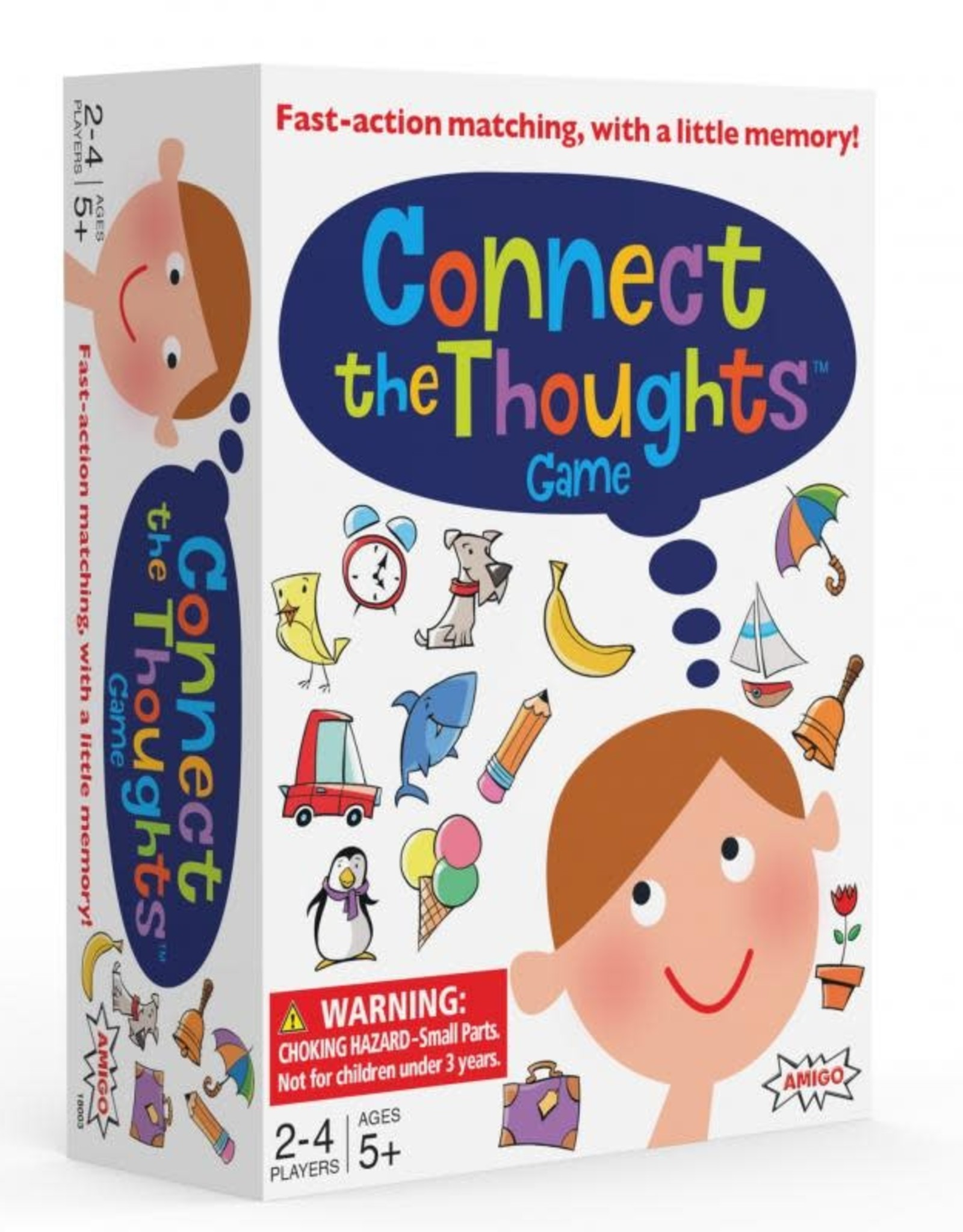 Amigo Games Connect the Thoughts Game