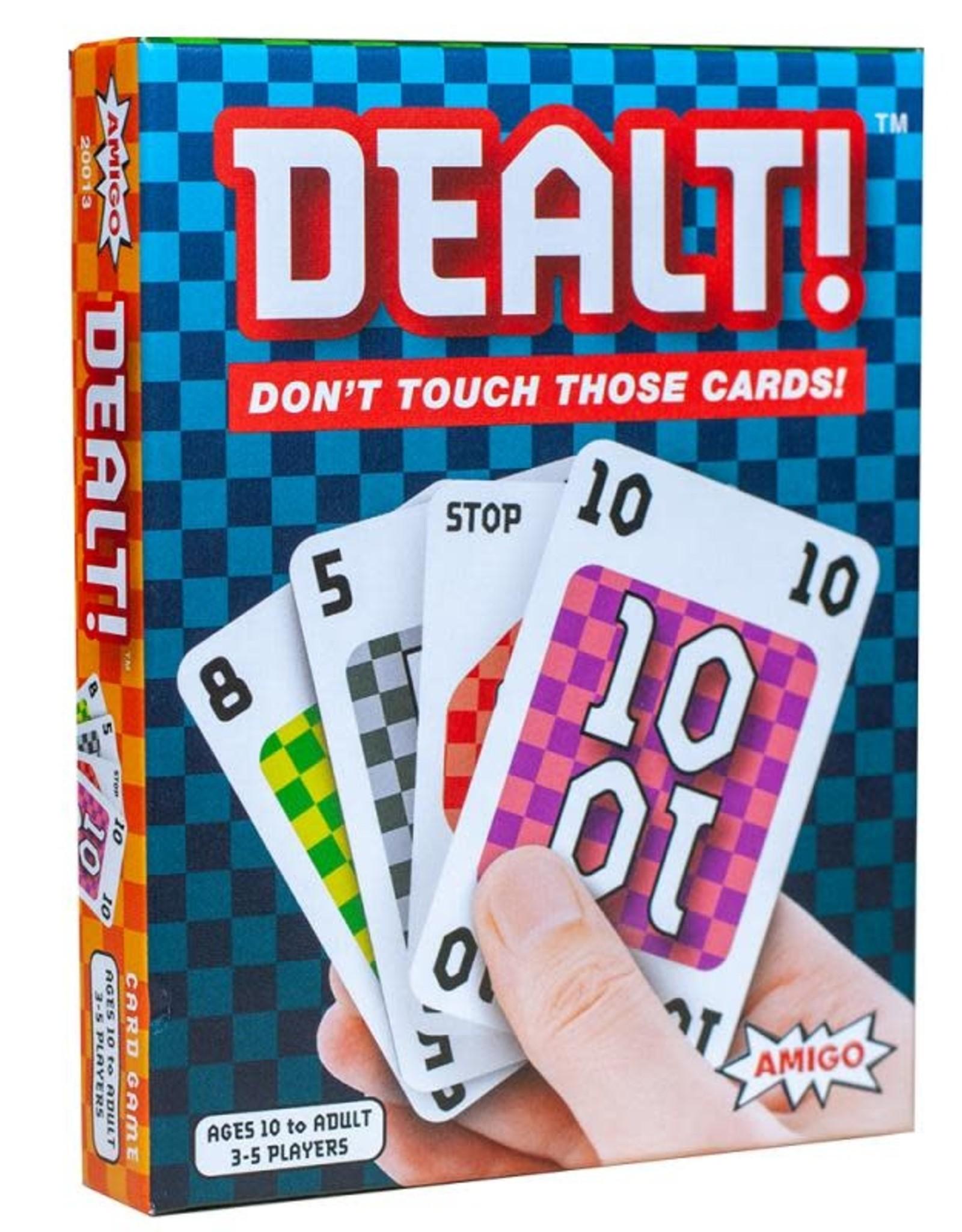 Amigo Games Dealt Card Game