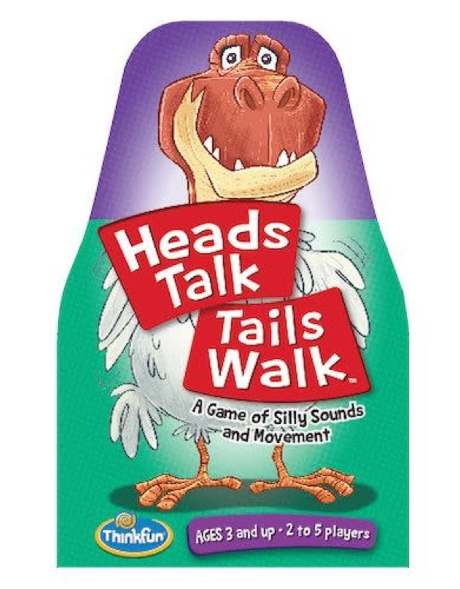 ThinkFun Heads Talk Tails Walk 3+